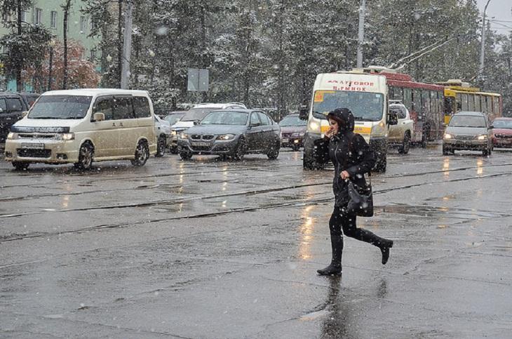Дождь, мокрый снег и сильный ветер ожидаются 29 апреля в Иркутской области