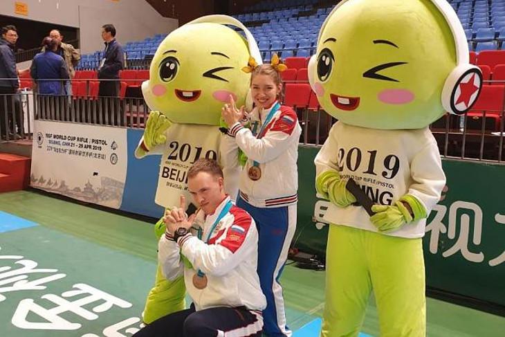 Стрелок Артем Черноусов завоевал бронзу на Кубке мира в Пекине