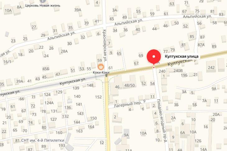 Участок улицы Култукская закрыли для проезда на восемь дней