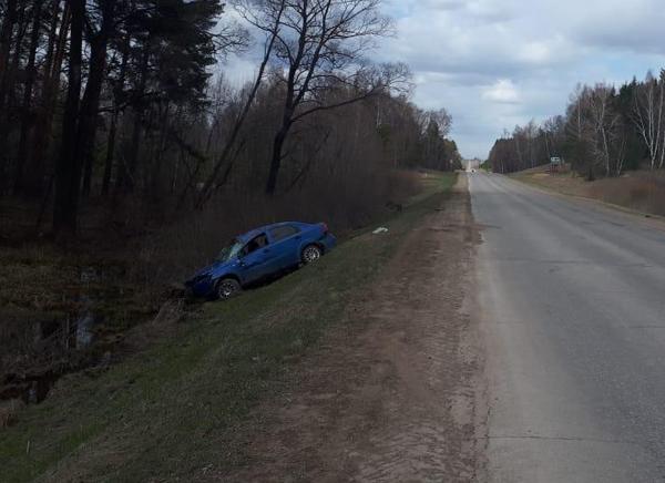 В Башкирии пьяный водитель перевернулся на машине