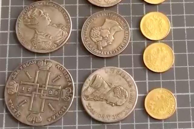Иркутянка купила у мошенника клад старинных монет