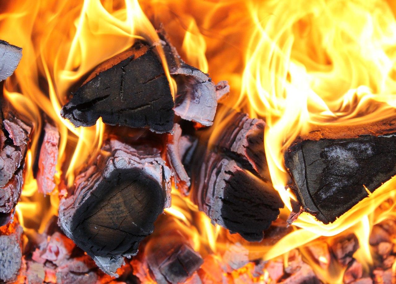 В Башкирии из-за разряда молнии произошел пожар