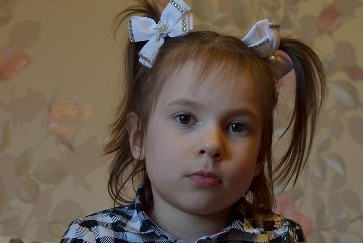 Пятилетней Диане Запольской требуется ортез для ног и спины