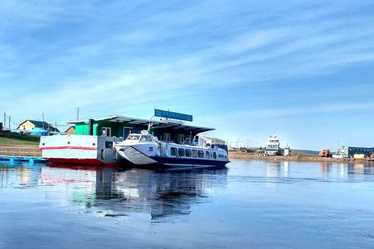 Субсидируемый маршрут по реке Лена запустили между Киренским и Усть-Кутским районами