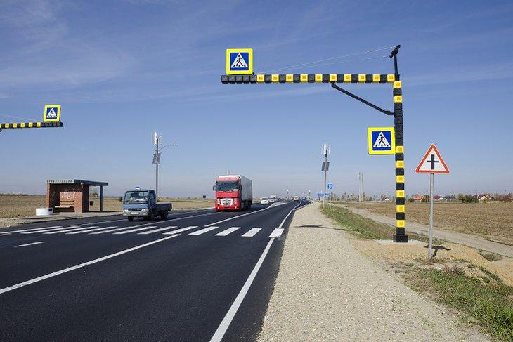 На четырех федеральных трассах в Иркутской области запретили движение большегрузов