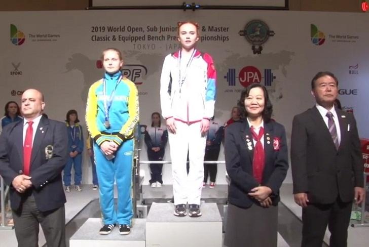 Иркутские пауэрлифтеры завоевали шесть медалей на мировом первенстве в Токио