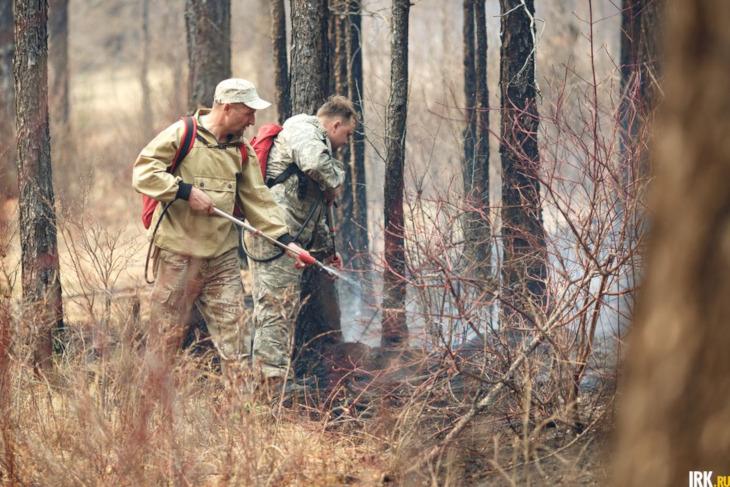 Виновников лесных пожаров в Иркутской области ищут через сотовых операторов