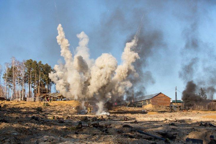 Реконструкцию танкового сражения под Иркутском перенесли на 12 мая из-за  непогоды