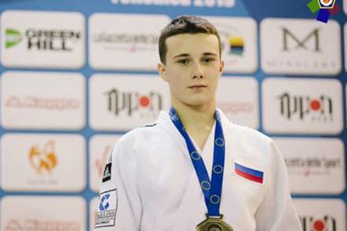 Братский дзюдоист Андрей Долгов завоевал бронзу Кубка Европы в Германии