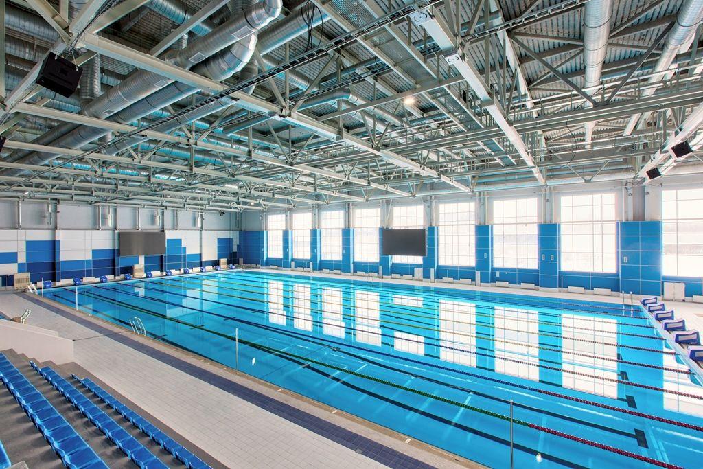 В Уфе построили первый 50-метровый бассейн
