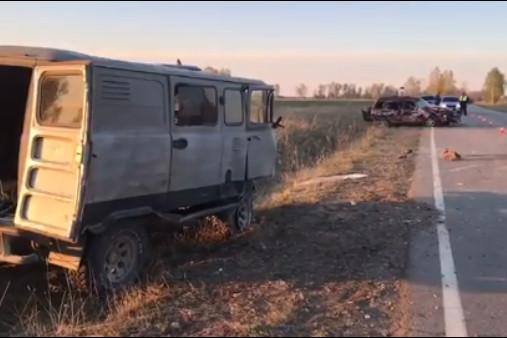 Водитель Honda CR-V погибла при лобовом столкновении с УАЗом под Ангарском