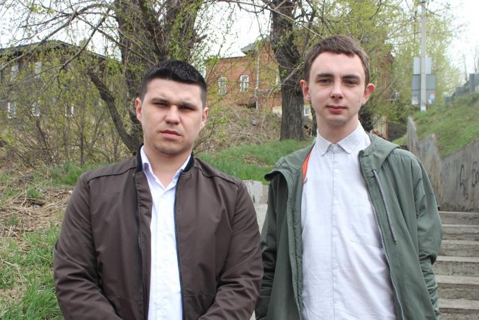Двое иркутян поймали грабителя в центре города
