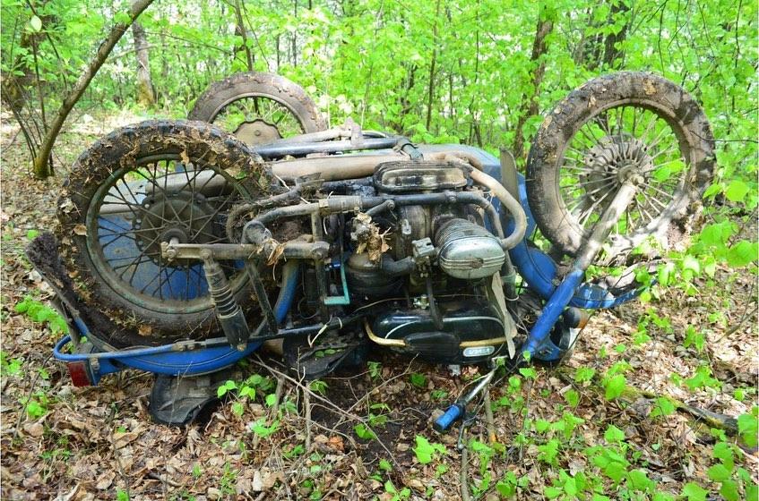 В Башкирии в ДТП погиб 60-летний мотоциклист