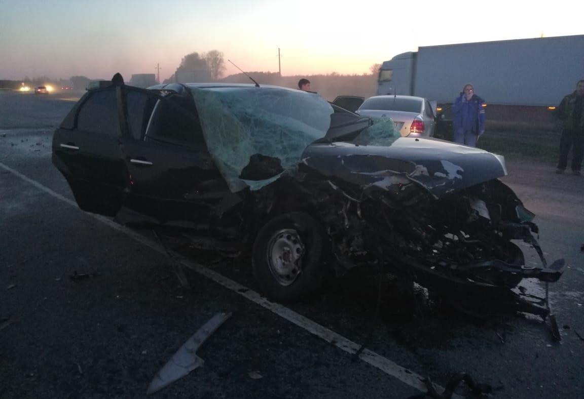 В Башкирии водитель без прав погиб в устроенной им аварии
