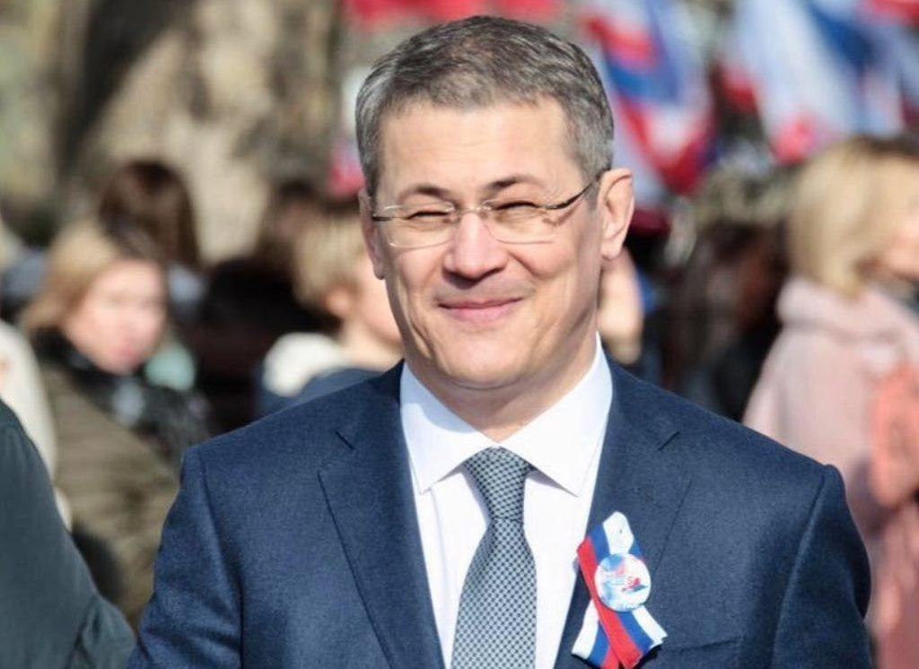 Радий Хабиров наградил жителей Башкирии