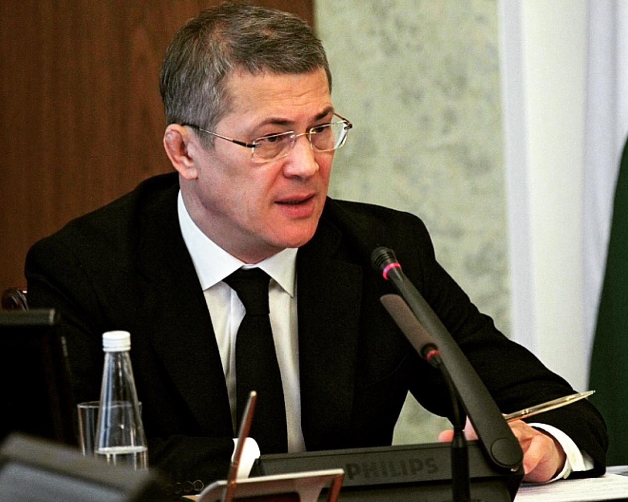 Радий Хабиров перевел оперативное совещание в правительстве Башкирии в закрытый режим