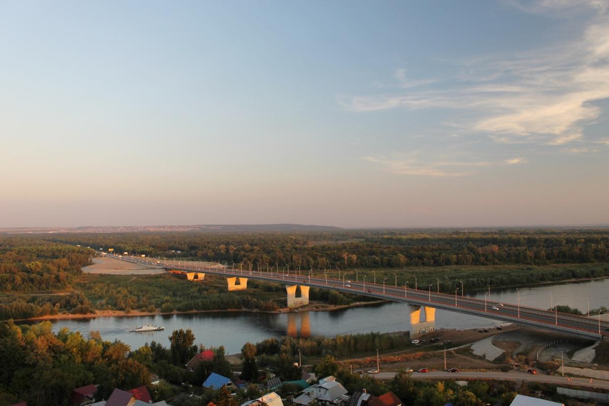 Уровень реки Уфы поднялся на полметра