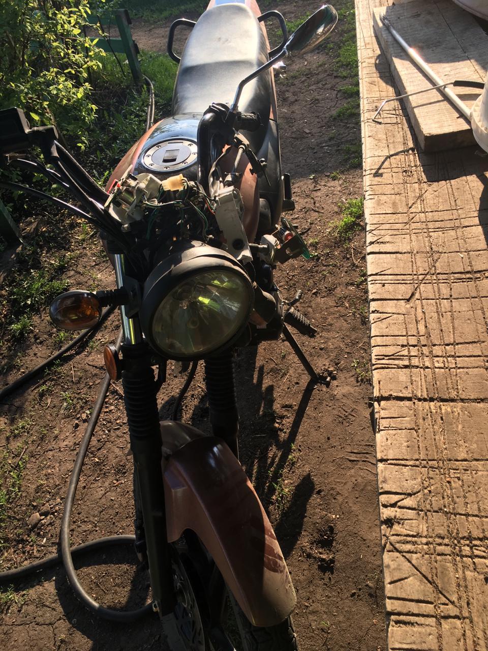 В Башкирии опрокинулся 13-летний мотоциклист