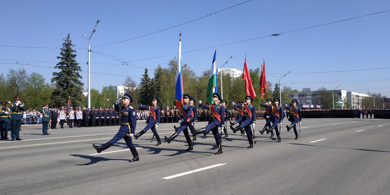 В Уфе проходит Парад Победы