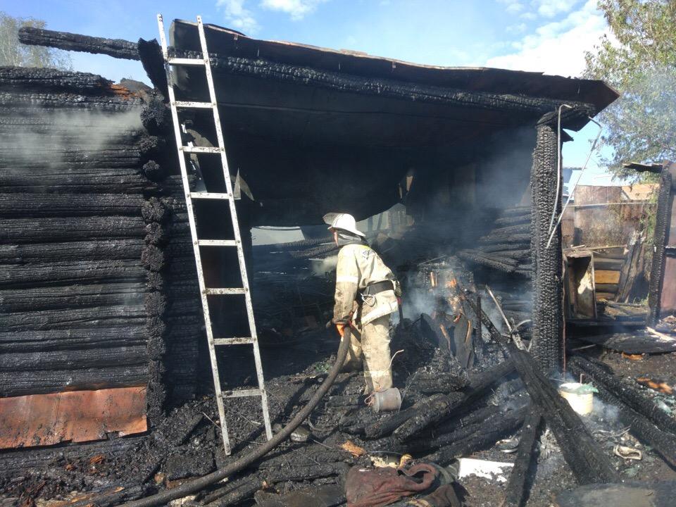 В Башкирии после пожара в частном доме нашли тело женщины