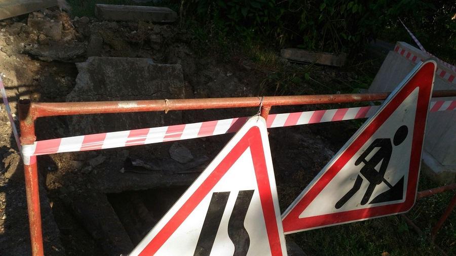 В Уфе на несколько дней перекрыли дорогу в центре города