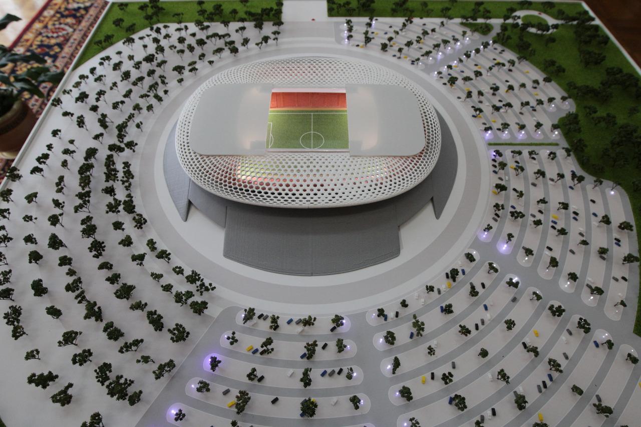 Радий Хабиров предложил жителям Уфы высказаться по поводу строительства нового футбольного стадиона