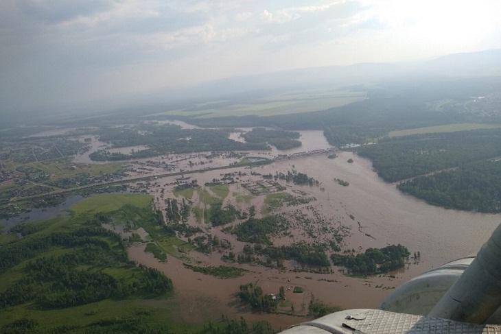 Дороги начали восстанавливать в пострадавших от наводнения районах Иркутской области