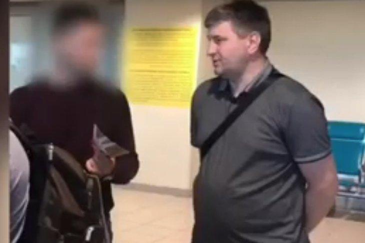 Следственный комитет опубликовал видео задержания Сергея Шеверды
