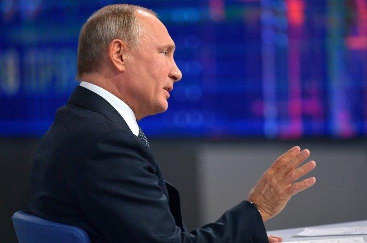 Прямая линия с президентом РФ Владимиром Путиным начнется в 17:00
