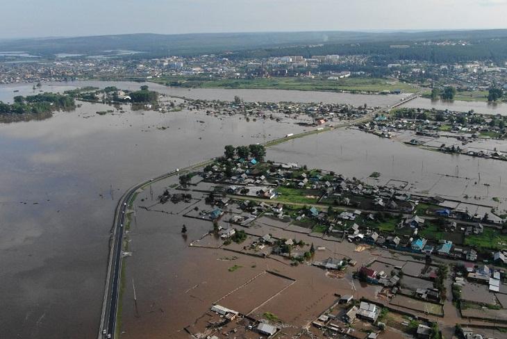 В Тулуне продолжается эвакуация населения
