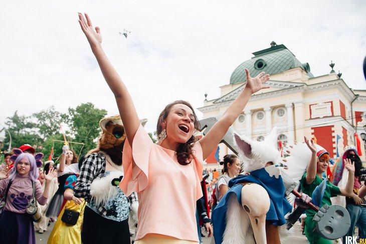 Иркутск отмечает День города 1 июня