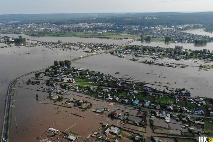 В Зиминском районе готовятся к наводнению