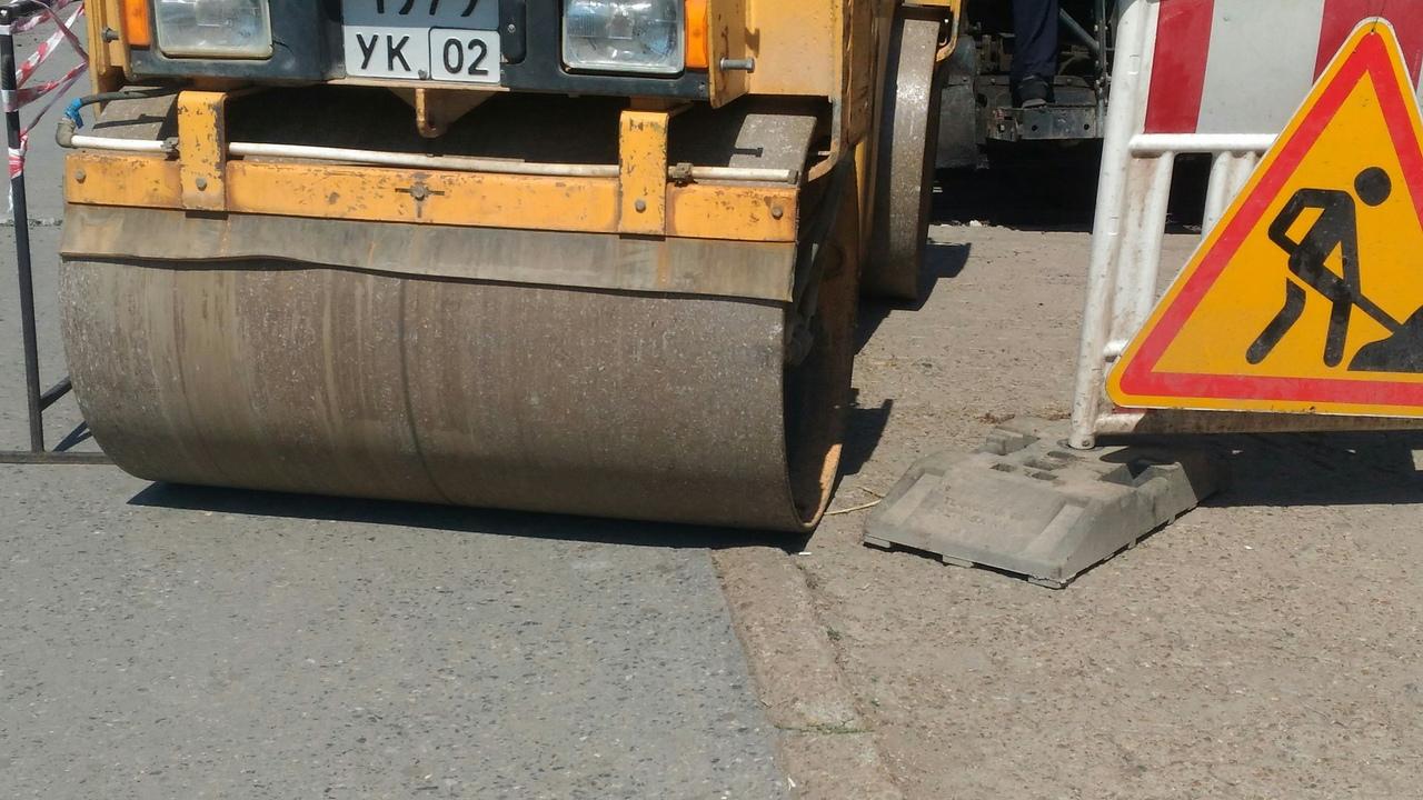 В Уфе из-за ремонта ограничили движение по Алексеевскому шоссе