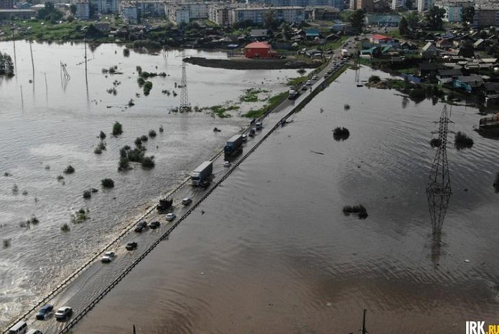 В Тулуне сохраняется сложная паводковая обстановка