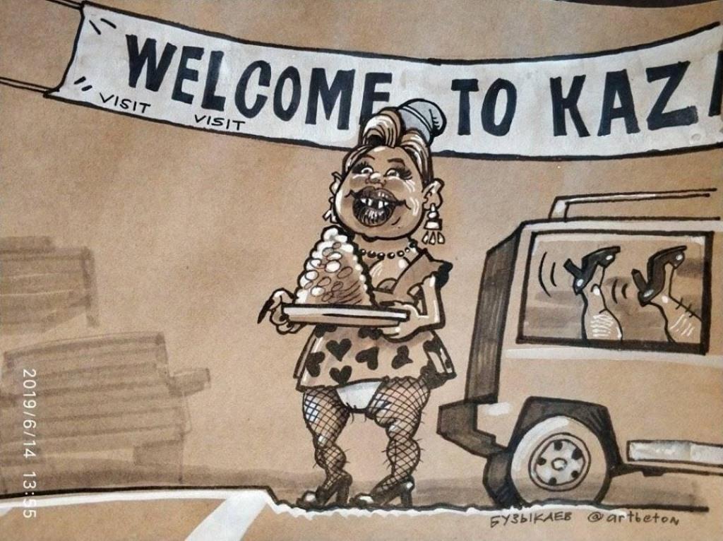 «Надо бы извиниться перед нашими братьями»: Радий Хабиров высказался о скандальной карикатуре Камиля Бузыкаева