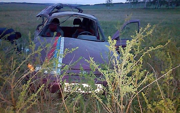 В Башкирии мужчины попали в ДТП по пути домой со свадьбы брата