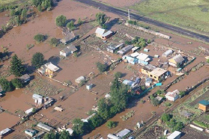 МЧС: уровень воды в реке Ия в Тулуне превысит 15 метров в ближайшие сутки