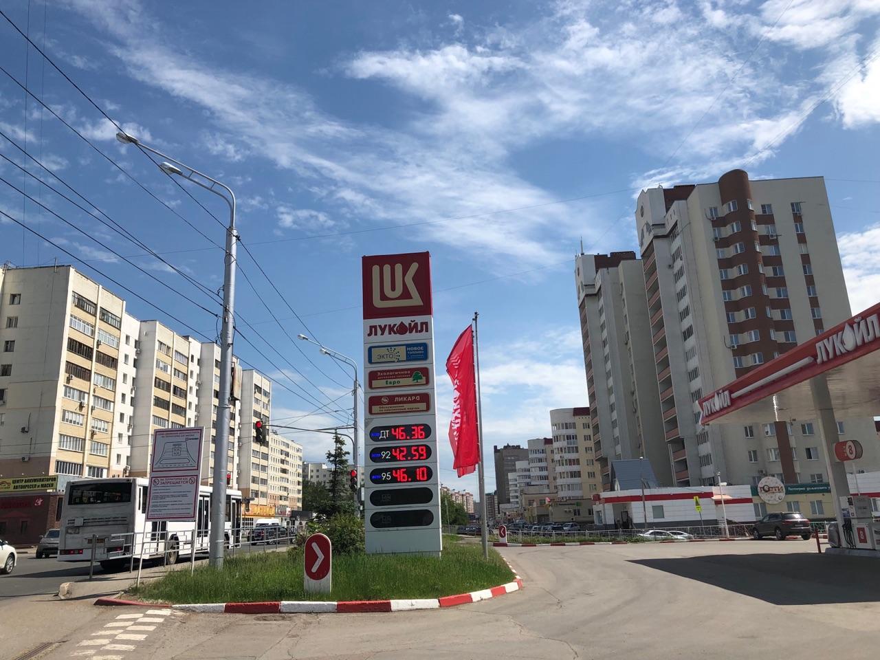 В Уфе на всех заправках подскочили цены на бензин