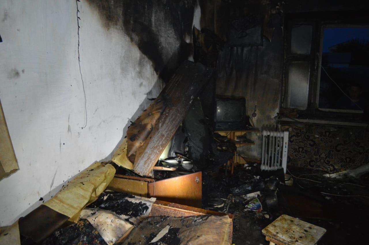 В Башкирии пожарный извещатель спас жизнь 8 жильцам многоквартирного дома