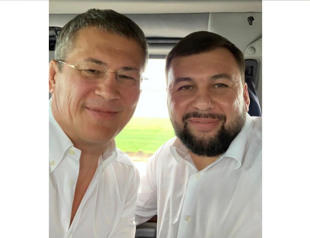 В Башкирию приехал глава ДНР Денис Пушилин