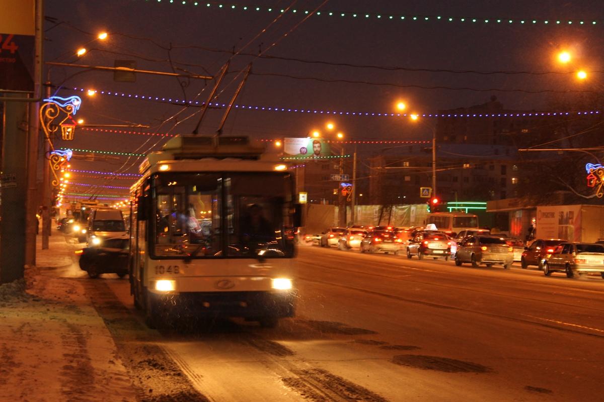 На одной из улиц Уфы временно приостановят движение троллейбусов