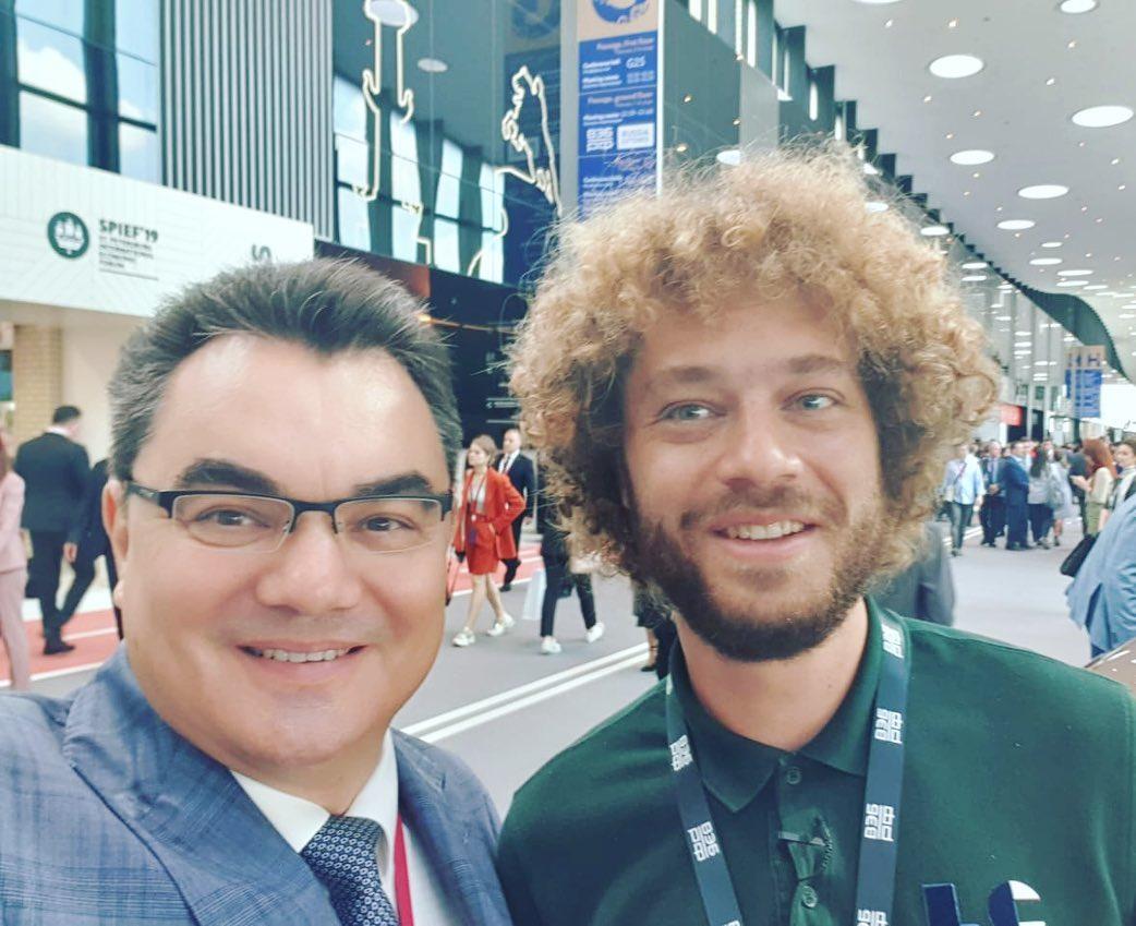 Ирек Ялалов встретился с критиковавшим Уфу блогером Валерием Варламовым