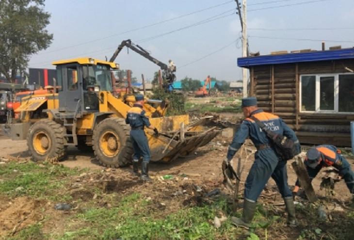 Подтопленные населенные пункты в Иркутской области полностью освободили от воды