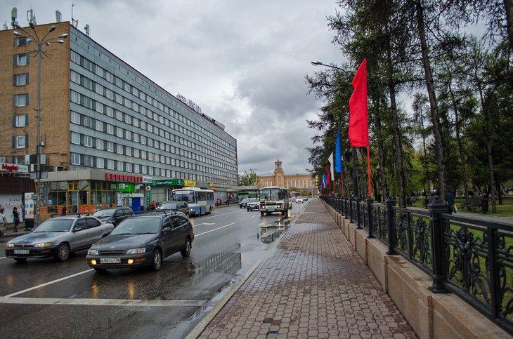 Небольшой дождь ожидается в Иркутске 24 июля