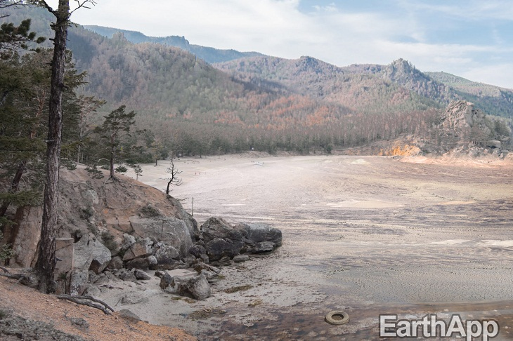 Greenpeace опубликовало фотографии «состаренного» Байкала