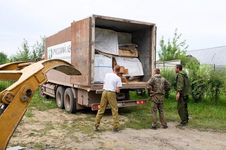 Ассоциация «Русский лес» доставила пиломатериалы для ремонта детских центров в Нижнеудинске и Тулуне