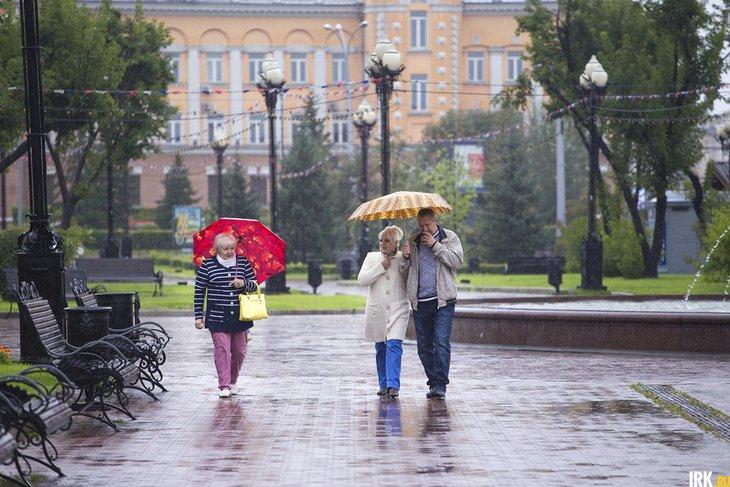 Дождливая погода ожидается на выходных в Иркутской области