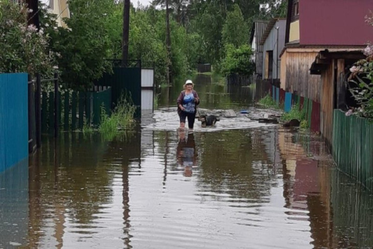 МЧС: на пяти реках Иркутской области прогнозируется резкое повышение уровня воды