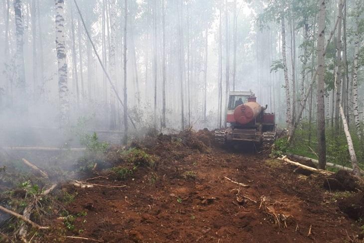 Площадь пожаров в Иркутской области увеличилась на 13 тысяч гектаров