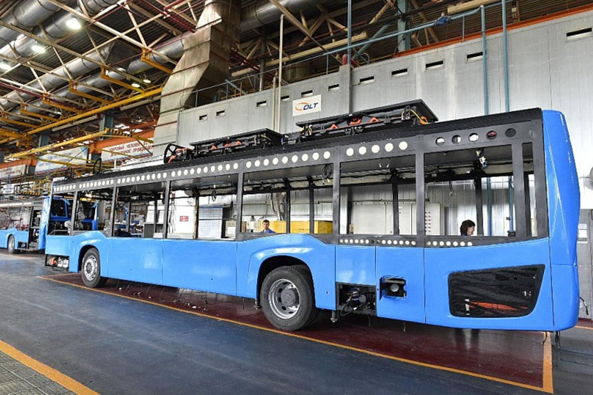 «НЕФАЗ» выпустит новую линейку автобусов